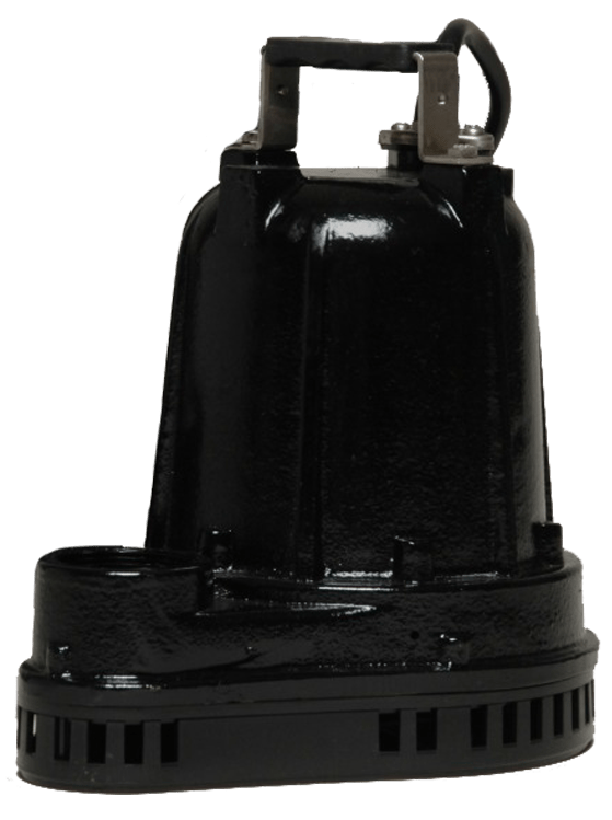 Champion Sump/Effluent Pump - Stainless Steel Hardware - 1/3 HP 115 VAC -  10 Foot Cord - 42 GPM - 20 Foot Head w/ Vertical Switch