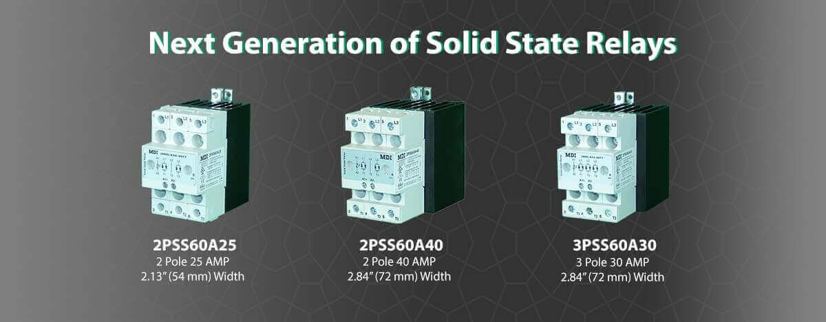 2 & 3 Pole Solid State Relays