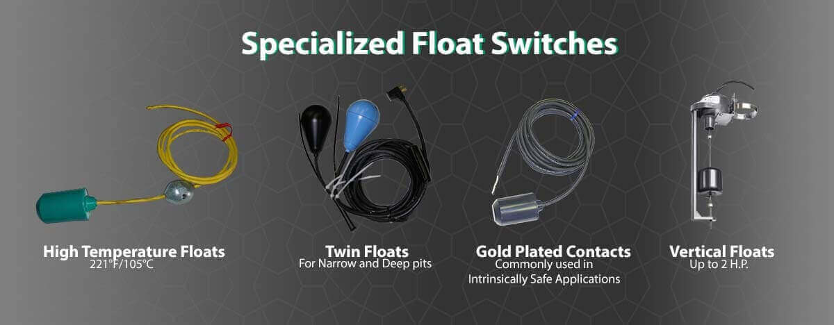 Specialized Float Switches